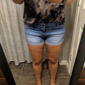 Celebrity skin shorts
